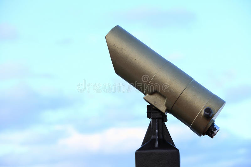 Download City-view Tourist Telescope Viewfinder View Day Light Royalty Free Stock Photography - Image: 28274947