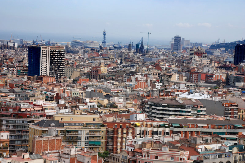 Download City views stock image. Image of crowded, dense, architecture - 3464413