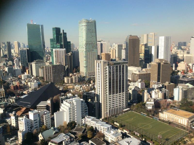 City views and tower views stock image