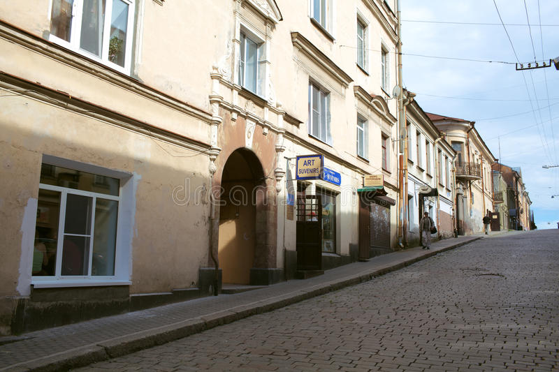 Download City of Vyborg stock image. Image of vyborg, light, paving - 27604489