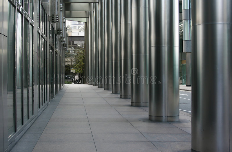 City Walkway royalty free stock photography