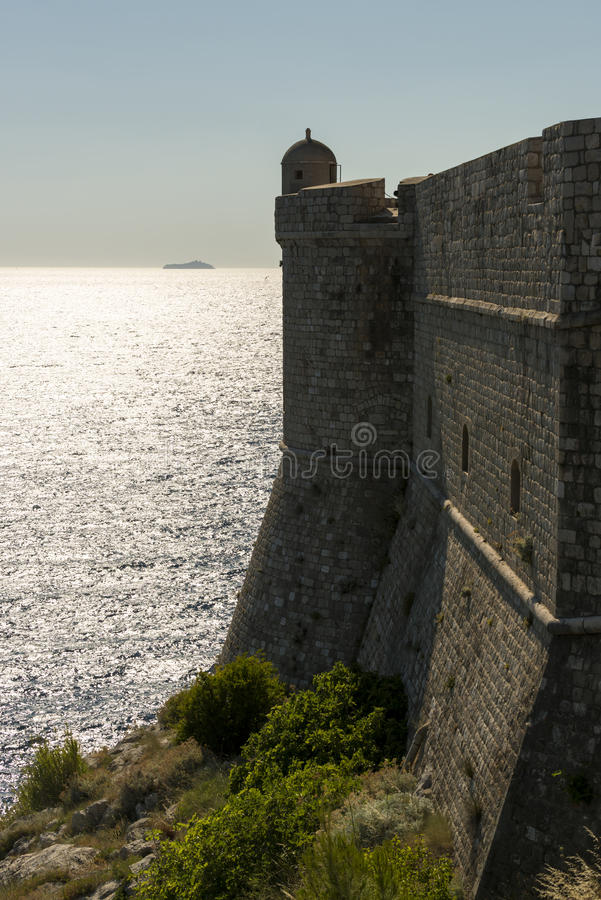 Download City Wall Of Dubrovnik, Croatia Stock Photo - Image: 25951454