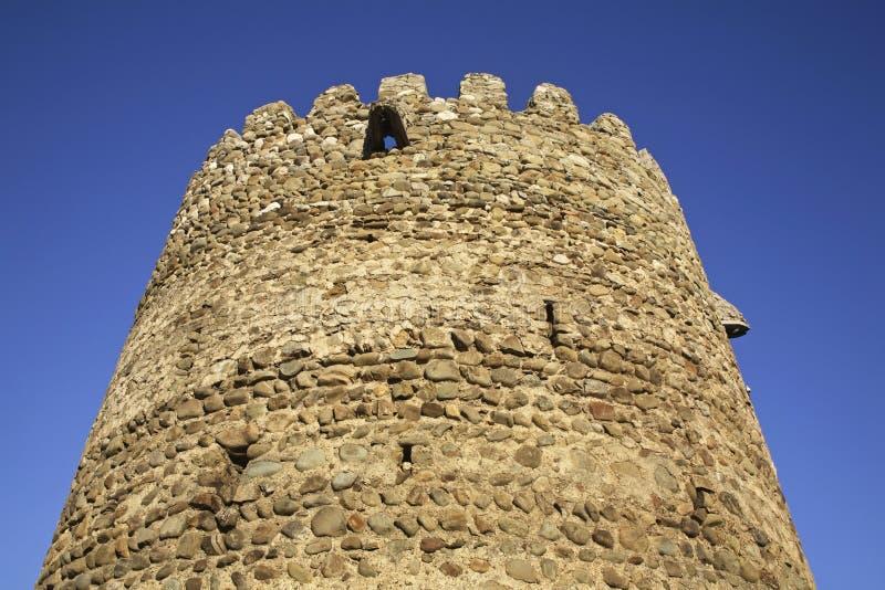 City wall in Sighnaghi. Kakheti. Georgia.  stock photo