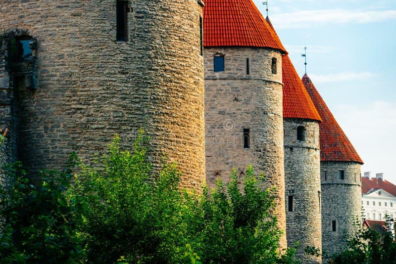 Download City Wall Of Tallinn, Estonia Stock Photo - Image: 43645024
