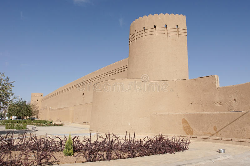 City Wall, Yazd, Iran. City Wall of Yazd, Iran, Asia royalty free stock photography