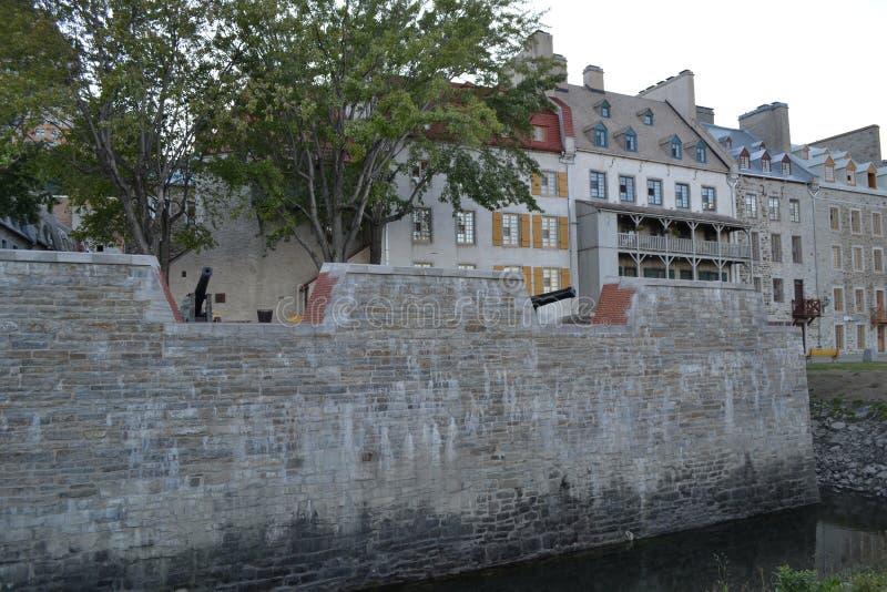 City Walls of Quebec stock photos