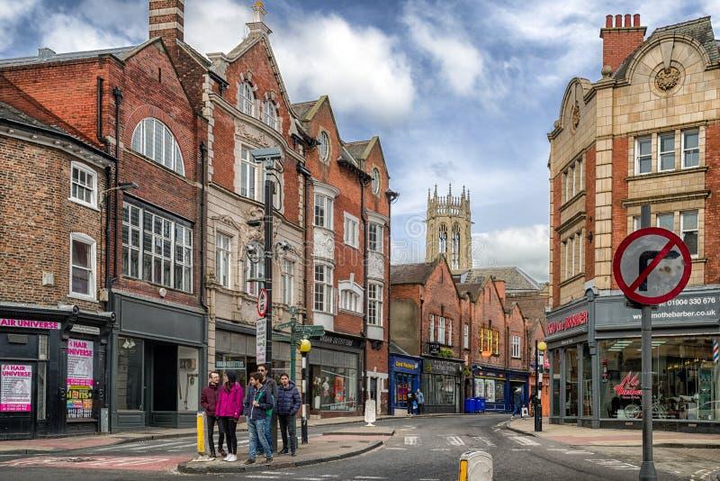 City York in England stock photo