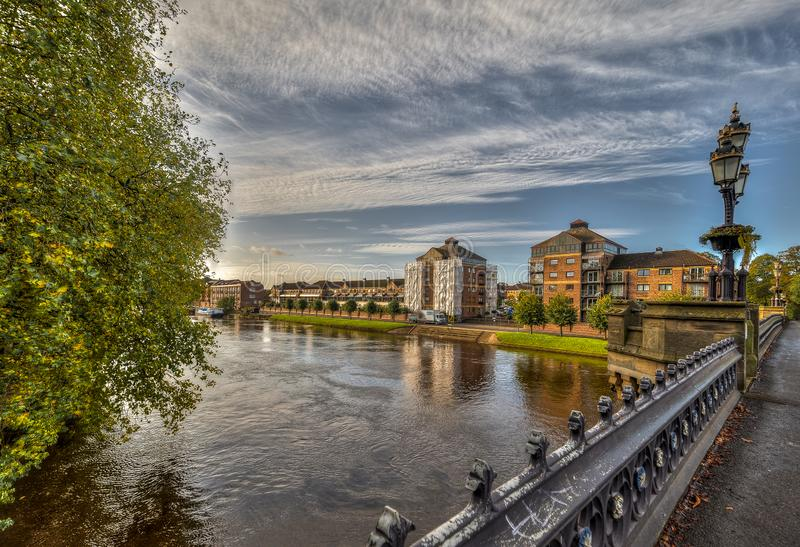 The city of York in United Kingdom - England. The city of York in United Kingdom stock images