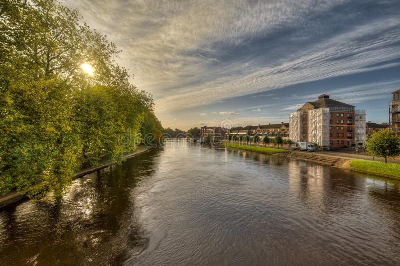 The city of York in United Kingdom - England. The city of York in United Kingdom royalty free stock photo