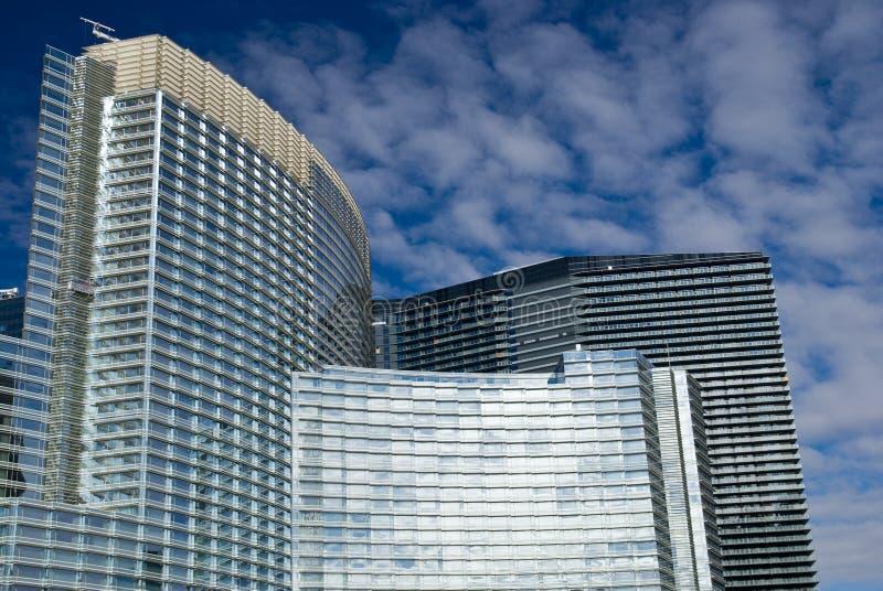 citycenter Las Vegas арии стоковое фото
