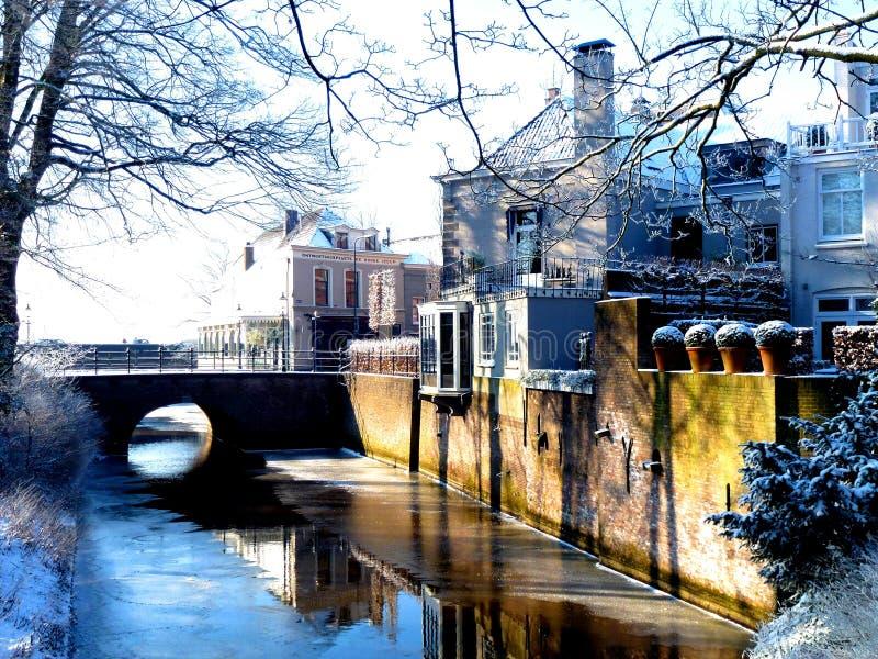 Citycenter zuiden s -s-hertogenbosch royalty-vrije stock afbeeldingen
