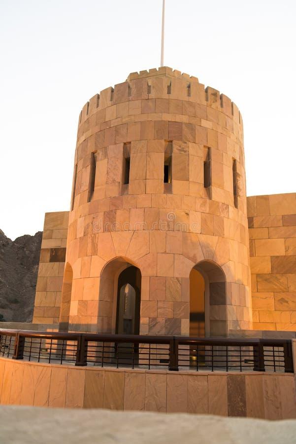 Citygatemuscateldruif, Oman royalty-vrije stock foto's