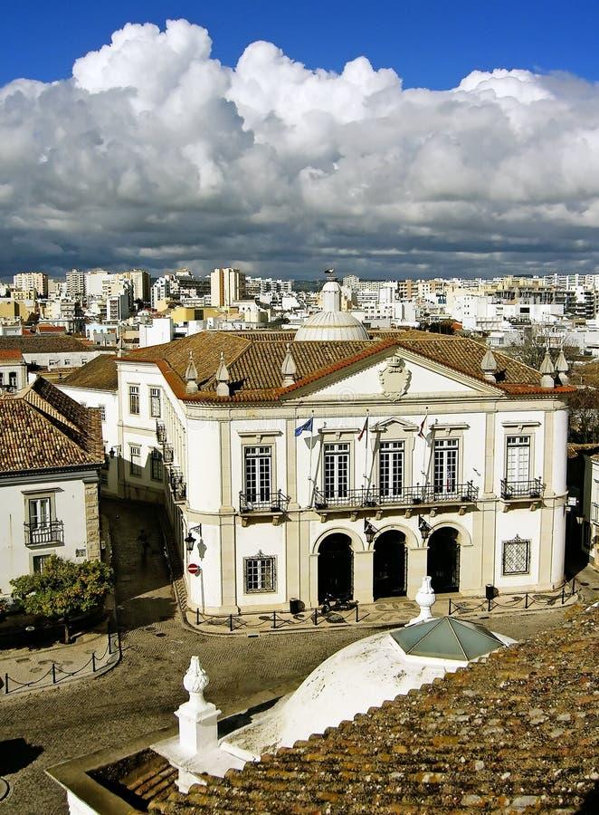 Cityhall de Faro image stock
