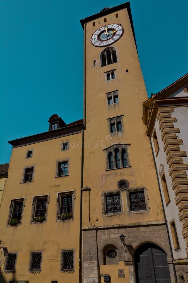 Cityhall de Regensburg fotos de stock