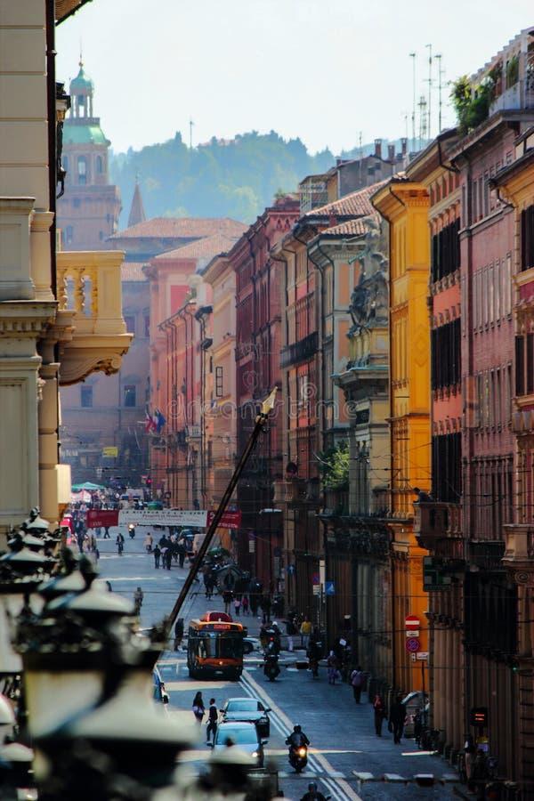 Citylife Bollogna,意大利 免版税库存图片