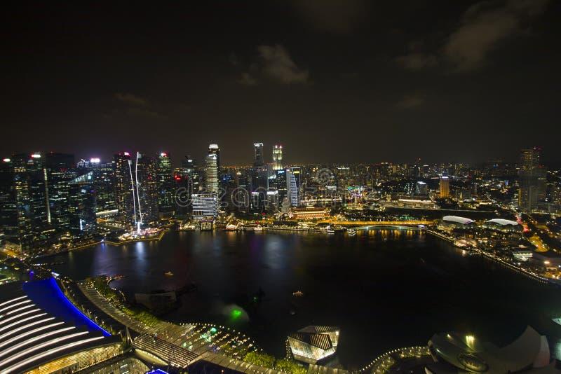 Citylights - baía do porto fotos de stock