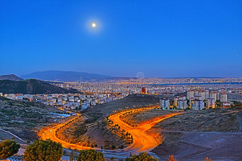 Download Izmir Skyline - An HDR View From Izmir Stock Image - Image: 42435255