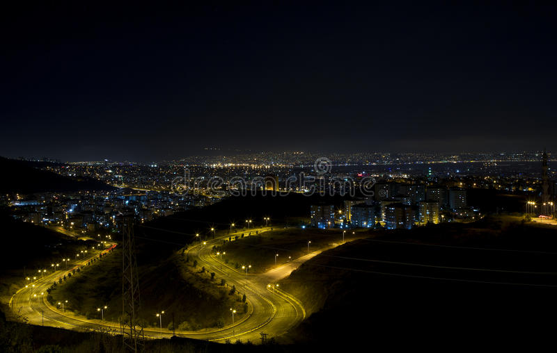 Download Citylights - A View From Izmir Stock Photo - Image: 30942344