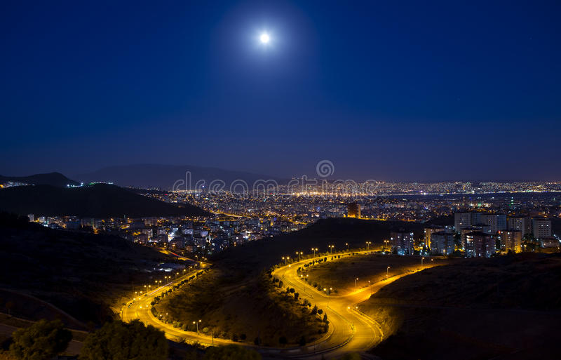 Download Citylights - A View From Izmir Stock Photo - Image: 42435257