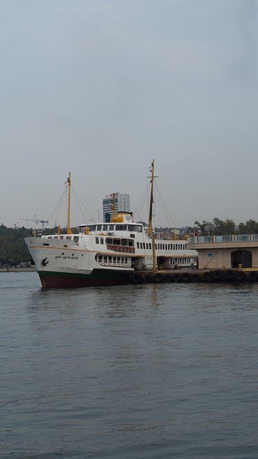 Cityline-Fährhafen stockbilder