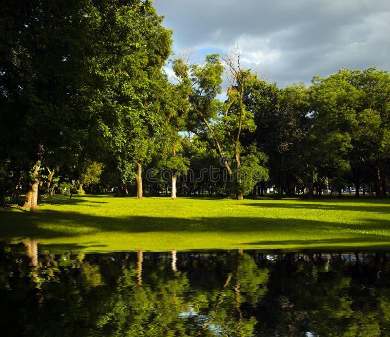 Citypark imagem de stock royalty free