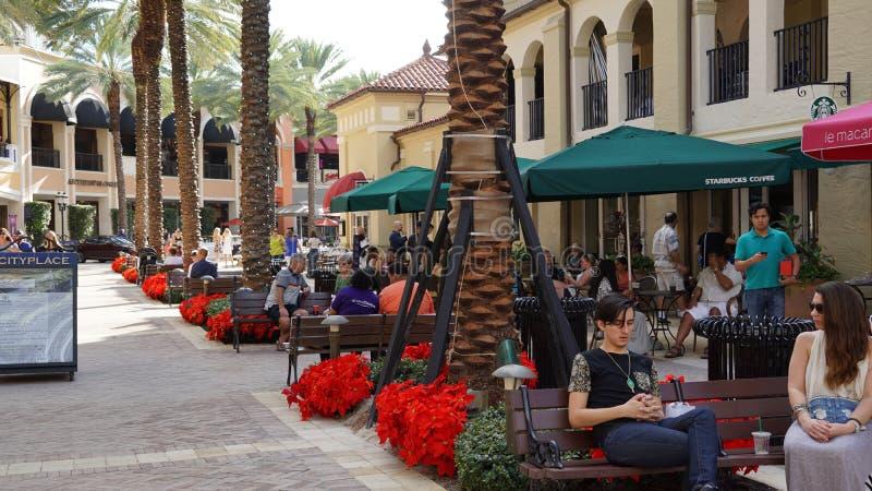 CityPlace στο δυτικό Palm Beach, Φλώριδα στοκ φωτογραφία με δικαίωμα ελεύθερης χρήσης
