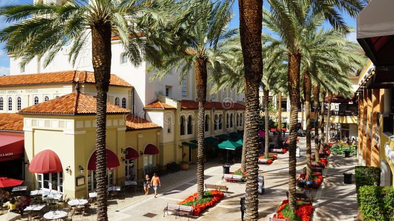 CityPlace στο δυτικό Palm Beach, Φλώριδα στοκ φωτογραφίες με δικαίωμα ελεύθερης χρήσης