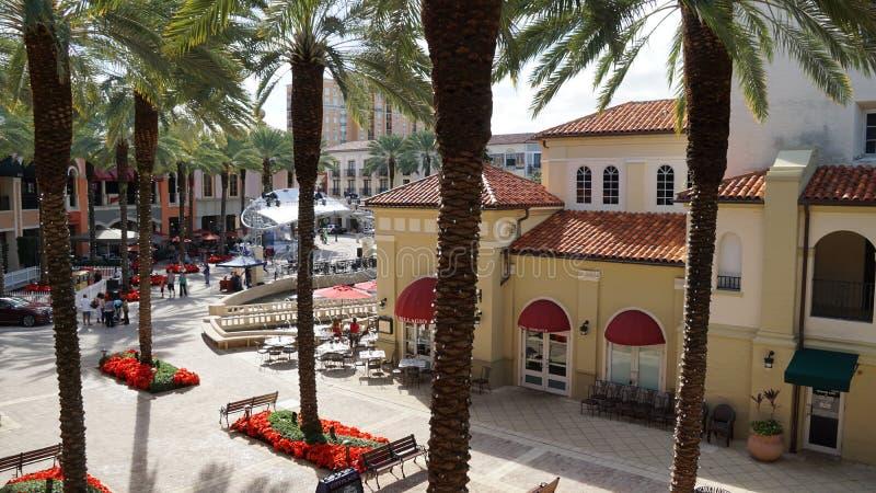 CityPlace en West Palm Beach, la Florida fotografía de archivo libre de regalías