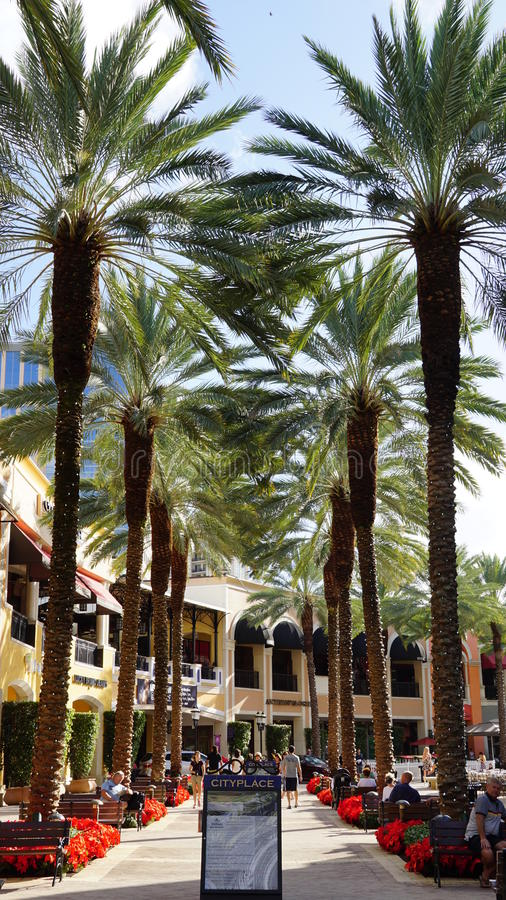Download CityPlace In West Palm Beach, Florida Editorial Photography -  Image of america, mall