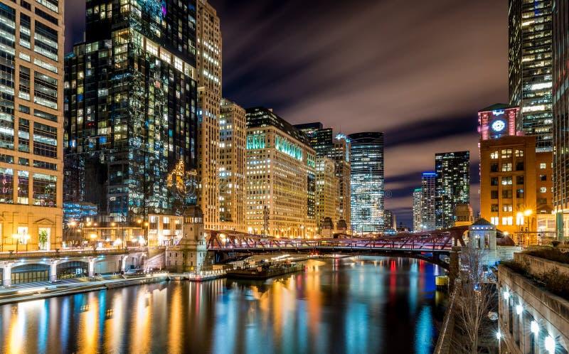 CHICAGO IL skyline usa stock photos