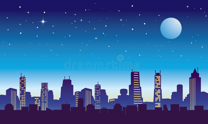 Cityscape royalty free illustration