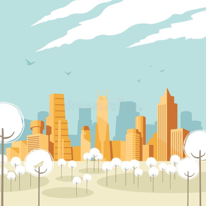 Cityscape vector illustratie