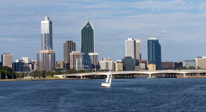 Download CityScape stock image. Image of city, yacht, bridge, architecture - 225039