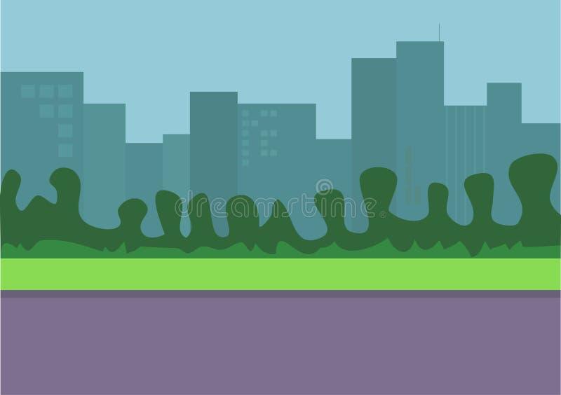 Download Cityscape stock illustrationer. Illustration av hotell, finans - 27571