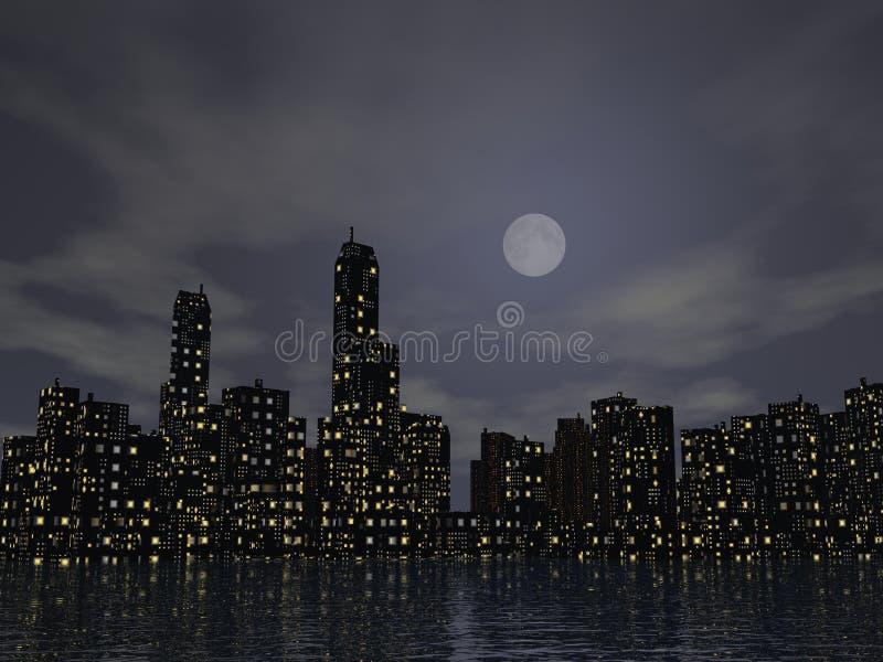 Cityscape royalty-vrije illustratie