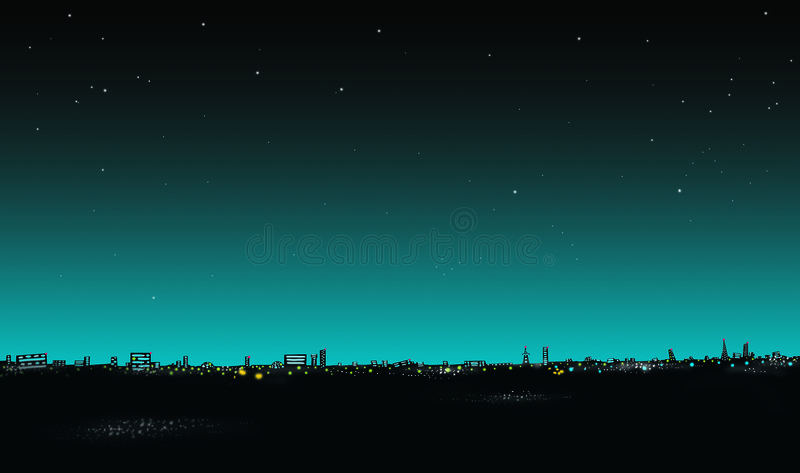 Download Cityscape stock illustration. Image of illustration, color - 7838026