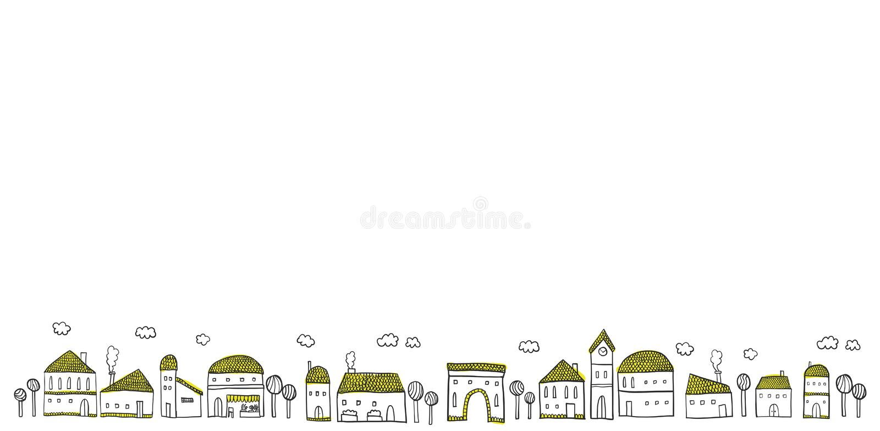 cityscape απεικόνιση αποθεμάτων