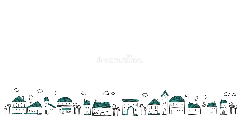 cityscape διανυσματική απεικόνιση