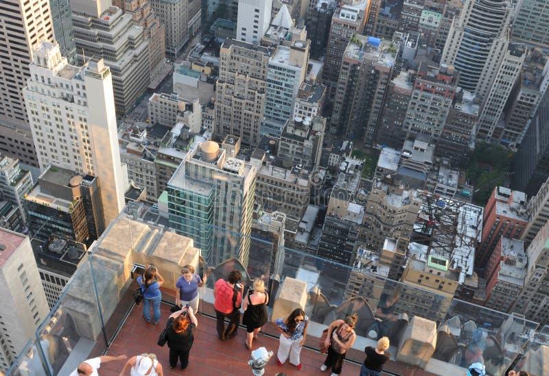 Cityscape av New York, USA arkivbild