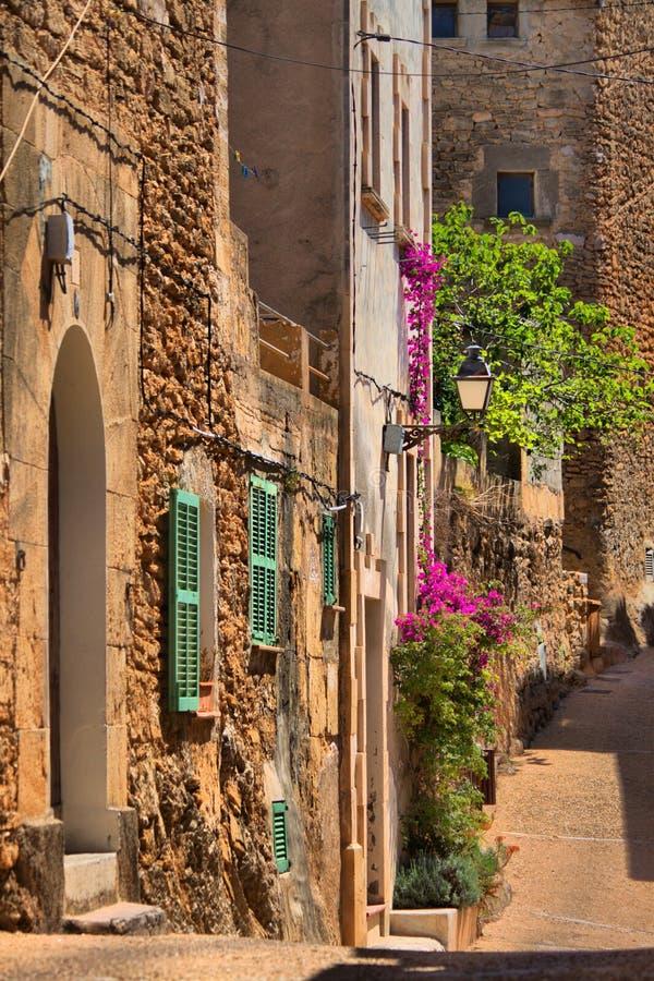 Cityscape av Palma de Mallorca arkivfoton