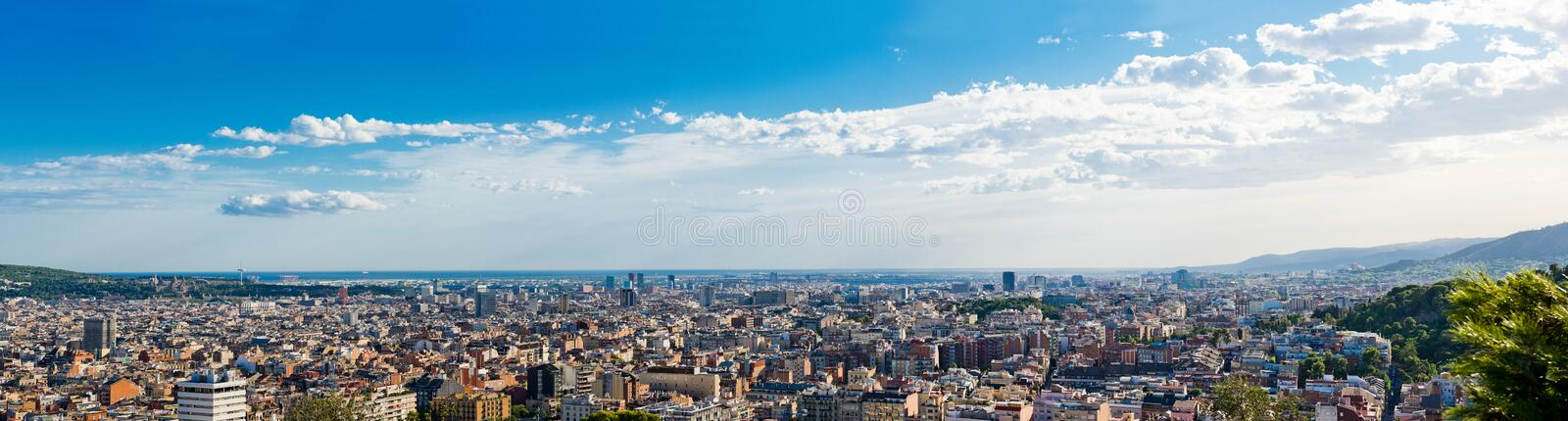 Download Cityscape Of Barcelona. Spain. Royalty Free Stock Photography - Image: 27866357