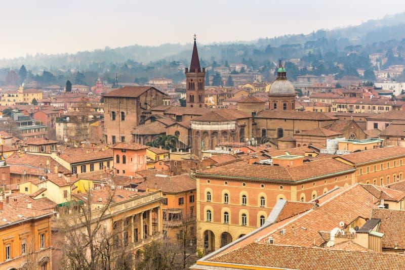 Cityscape of Bologna royalty-vrije stock foto's