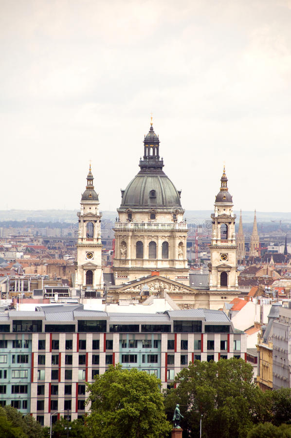 Download Cityscape  Budapest St. Stephen's Cathedral Stock Image - Image: 26873695
