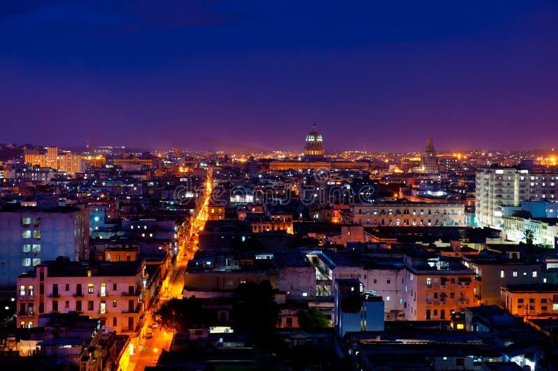 cityscape cuba havana fotografering för bildbyråer