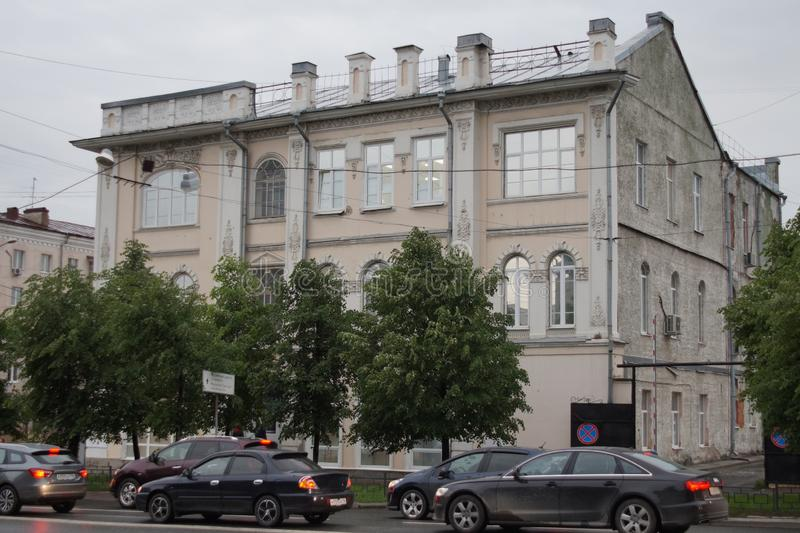Cityscape: en monument av historia och arkitektur, gata för 37 Malyshev arkivfoton