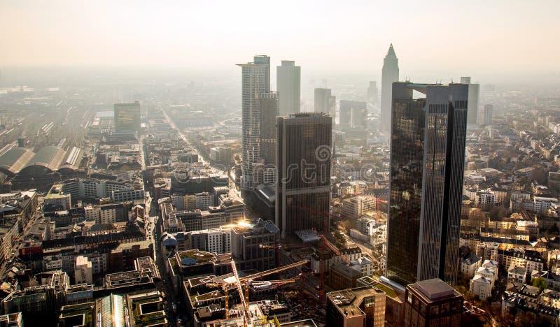 Cityscape Frankfurt Germany royalty free stock image