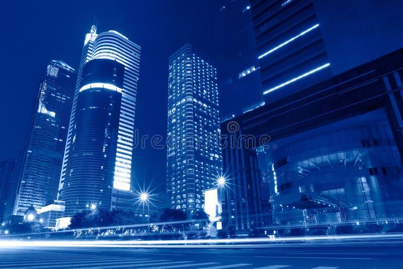 Cityscape of Guangzhou China stock photo