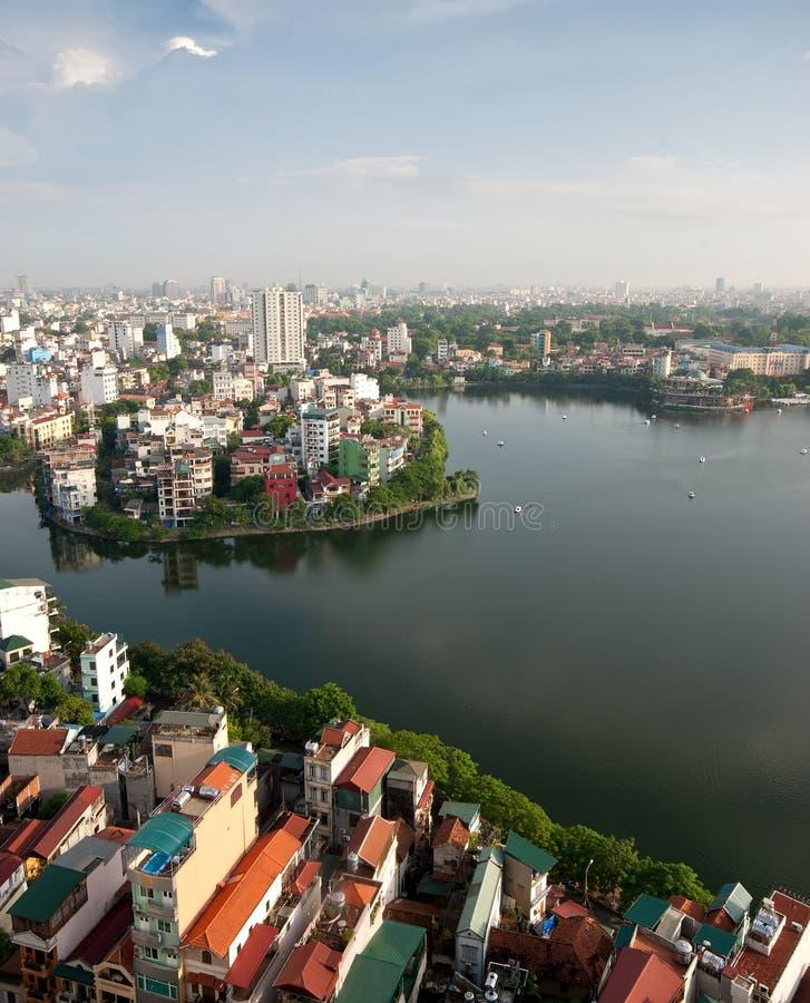 cityscape hanoi vietnam royaltyfri foto