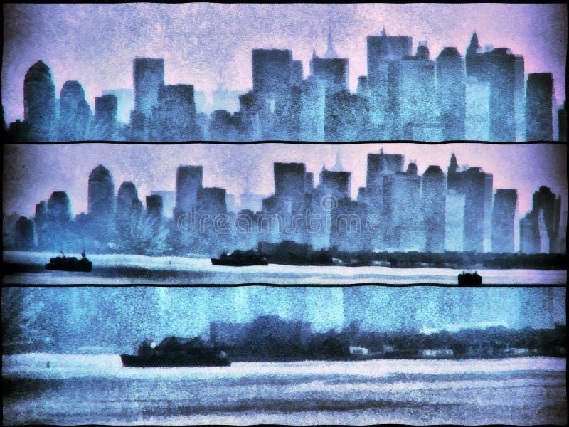 Cityscape stock illustratie