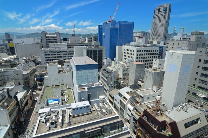 cityscape hiroshima fotografering för bildbyråer